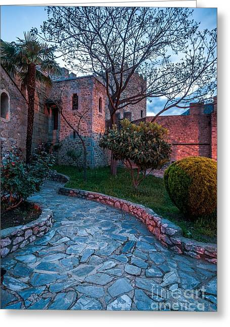Languedoc Greeting Cards - Saint-Saturnin at Sunrise Greeting Card by Maciej Markiewicz