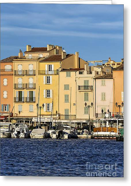 Saint-tropez  Greeting Card by John Greim