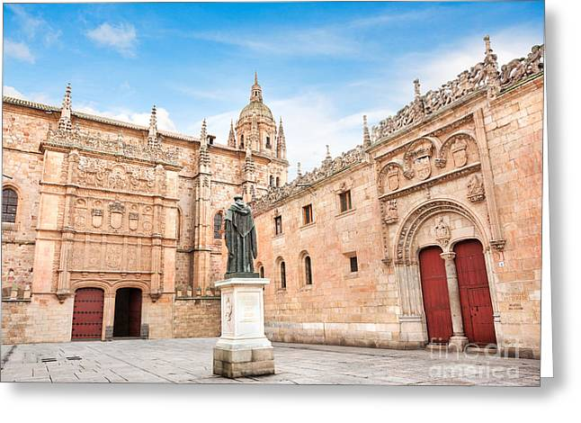 Southern Province Greeting Cards - Salamanca University Greeting Card by JR Photography