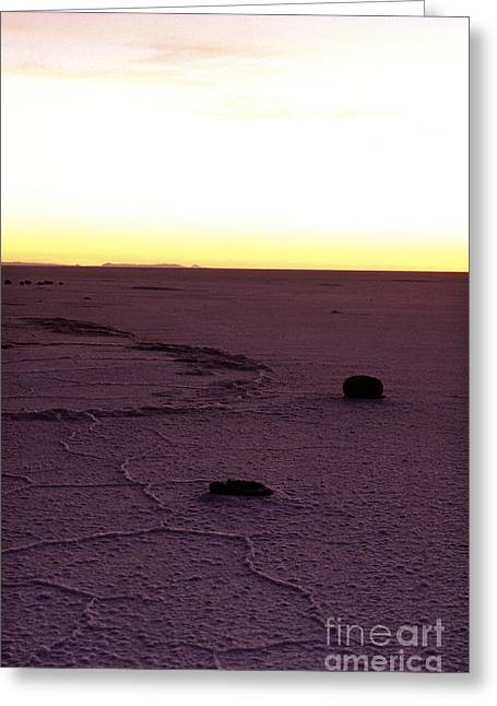 World Destination Photographs Greeting Cards - Salar de Uyuni- Bolivia Greeting Card by Ryan Fox