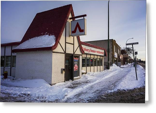 Manitoba Greeting Cards - Salisbury House Greeting Card by Bryan Scott