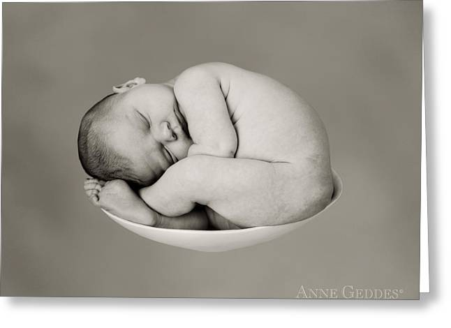 Babies Greeting Cards - Sally Pearl Greeting Card by Anne Geddes