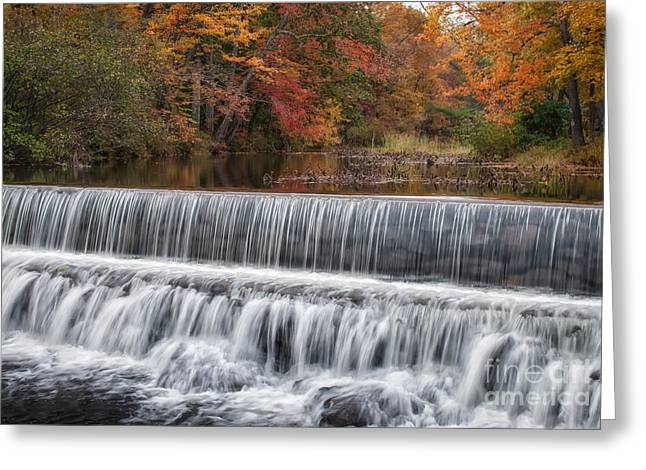 White Salmon River Greeting Cards - Salmon Falls River Acton Maine Greeting Card by Scott Thorp