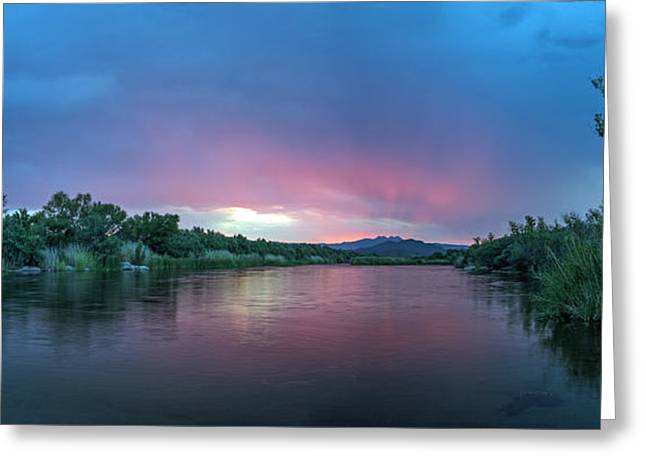 Tam Ryan Greeting Cards - Salt River Sunrise Greeting Card by Tam Ryan