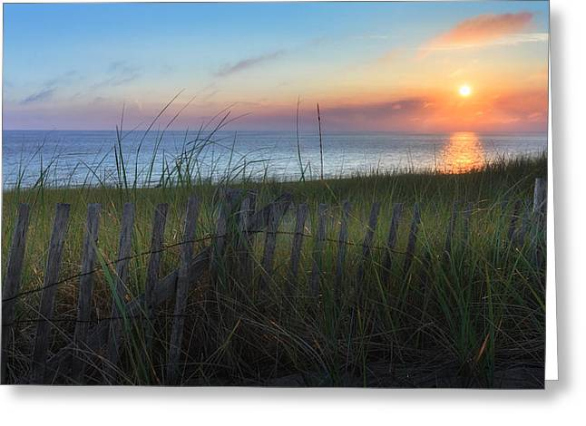 Cape Cod Bay Greeting Cards - Salty Air Greeting Card by Bill  Wakeley