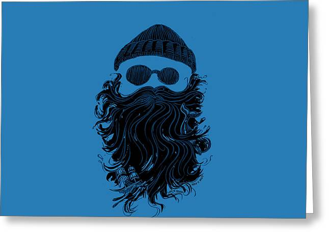 Salty Beard Greeting Card by Life is Good