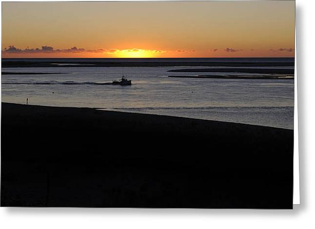 Cape Cod Tourism. Greeting Cards - Salty Sunrise Greeting Card by Luke Moore