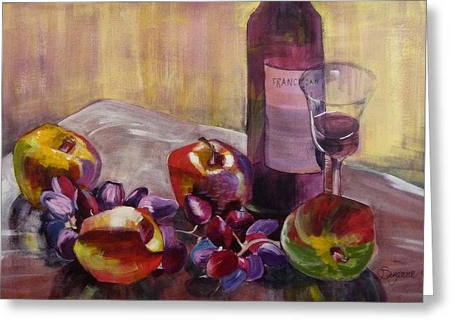 Salud Greeting Card by Suzanne Willis