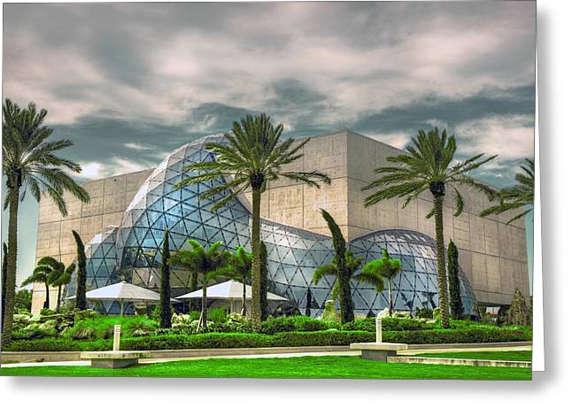 Dali Museum Greeting Cards - Salvador Dali Museum Greeting Card by Mal Bray