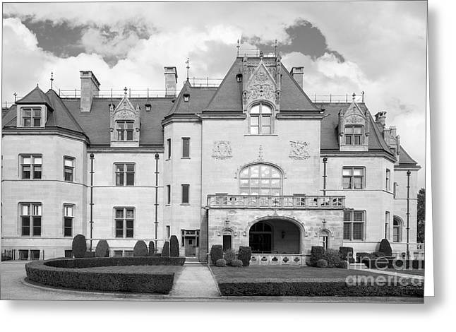 Newport Greeting Cards - Salve Regina University Ochre Court Greeting Card by University Icons