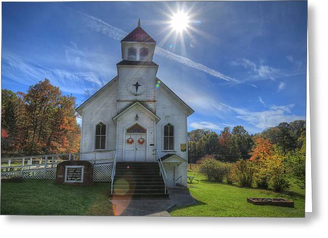 Sam Black Church Greeting Card by Jaki Miller