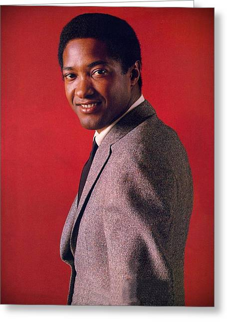 Cooke Greeting Cards - Sam Cooke Greeting Card by Movie Poster Prints