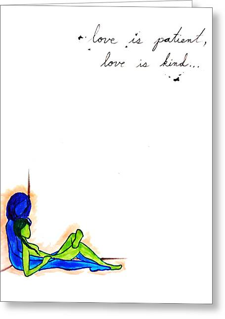 Equality Drawings Greeting Cards - Same Love Greeting Card by Samantha Weinberg