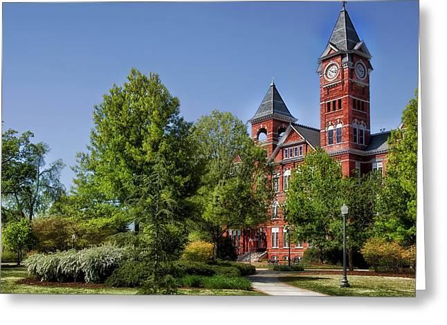 Auburn University Greeting Cards - Samford Hall - Auburn University Greeting Card by Mountain Dreams