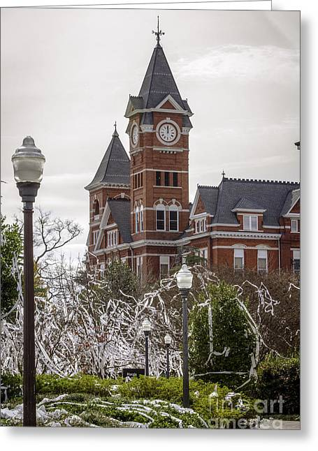 The Tiger Greeting Cards - Samford Hall I Greeting Card by Victoria Lawrence