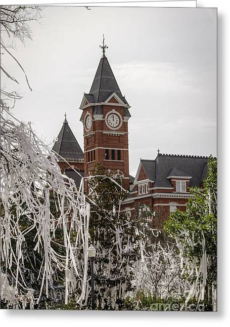Sec Greeting Cards - Samford Hall II Greeting Card by Victoria Lawrence