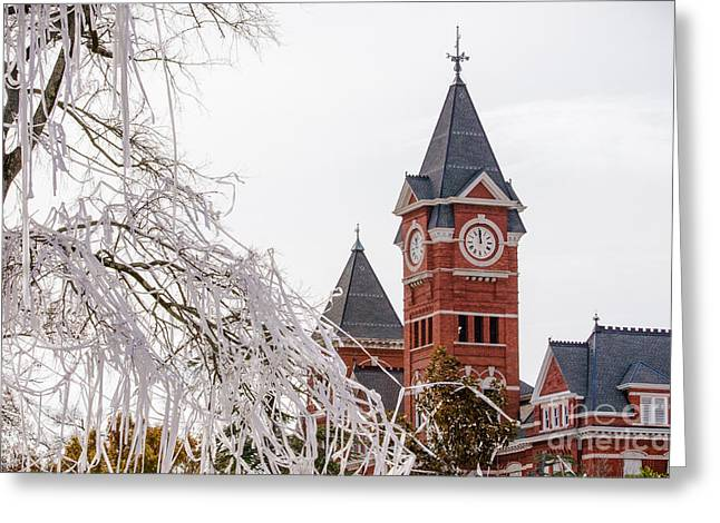 Sec Greeting Cards - Samford Hall III Greeting Card by Victoria Lawrence