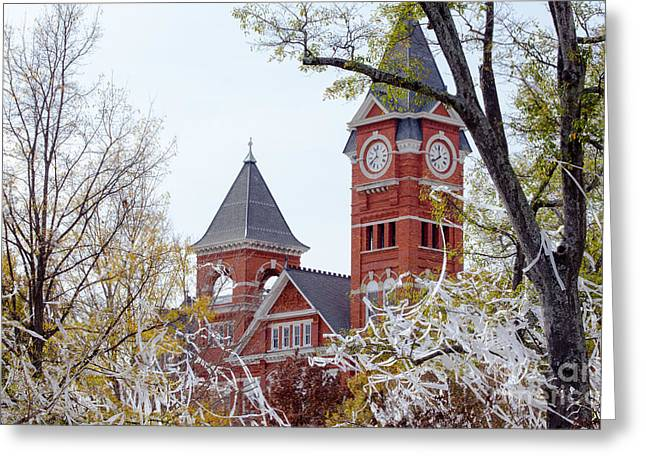 Samford Hall IIx Greeting Card by Victoria Lawrence