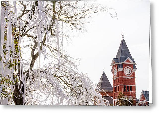 Sec Greeting Cards - Samford Hall IV Greeting Card by Victoria Lawrence
