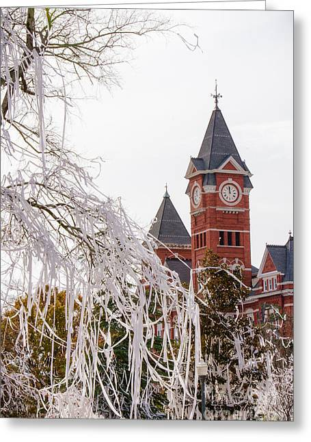 Sec Greeting Cards - Samford Hall V Greeting Card by Victoria Lawrence