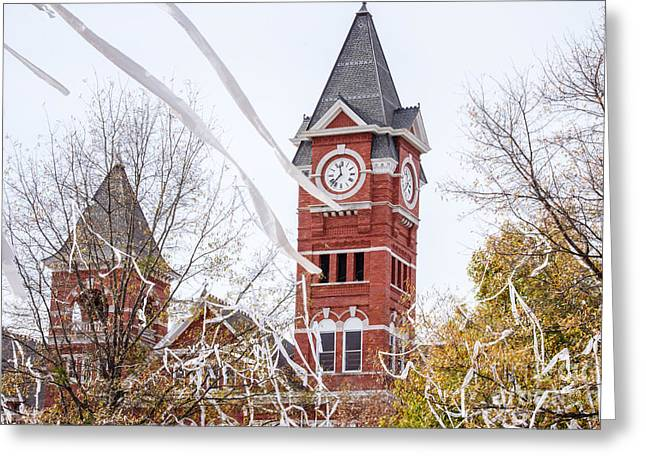 Sec Greeting Cards - Samford Hall VI Greeting Card by Victoria Lawrence