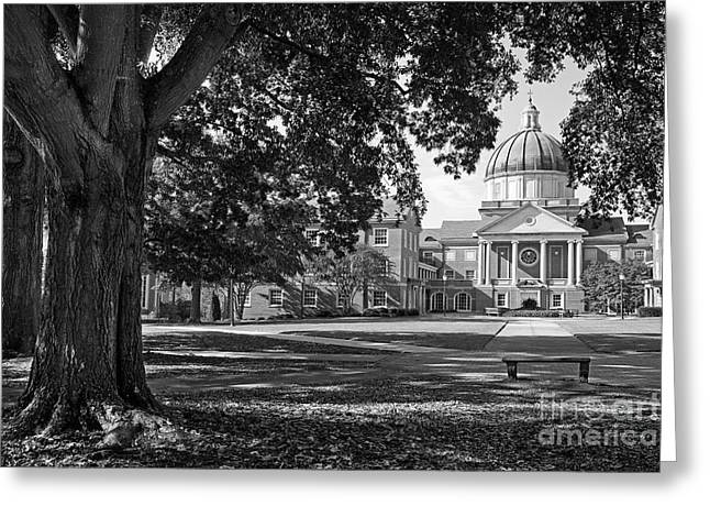 Recently Sold -  - Special Occasion Greeting Cards - Samford University Landscape Greeting Card by University Icons