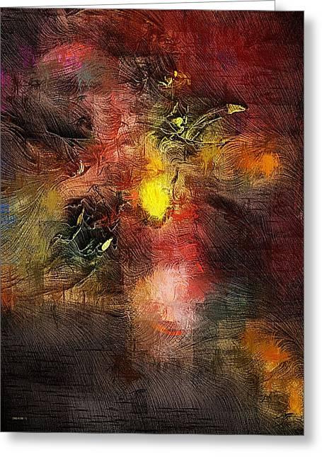 Samhain Greeting Cards - Samhain Greeting Card by David Lane