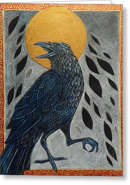 Samhain Greeting Cards - Samhain Greeting Card by Lynnette Shelley