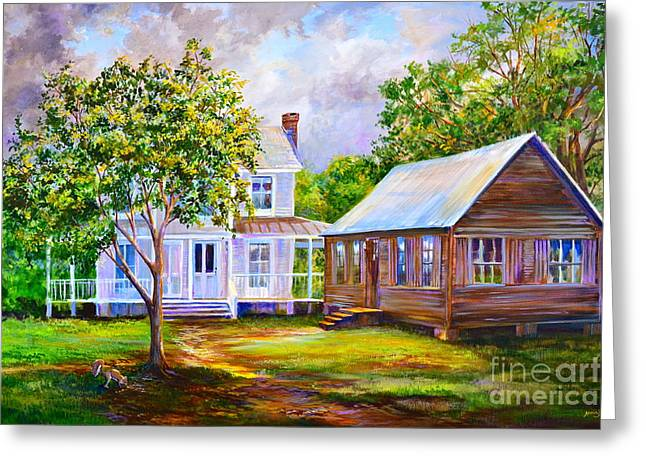Al Fresco Greeting Cards - Sams Place Greeting Card by AnnaJo Vahle