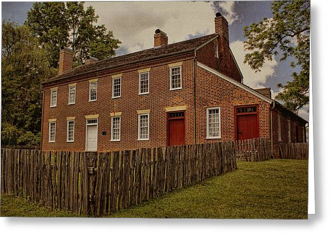 Tennessee Historic Site Photographs Greeting Cards - Samuel Doak House Greeting Card by Mel Hensley