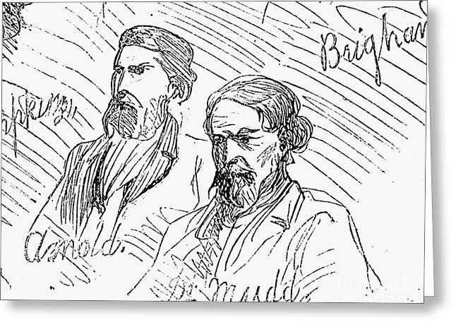 Defendant Greeting Cards - Samuel Mudd (1833-1883) Greeting Card by Granger