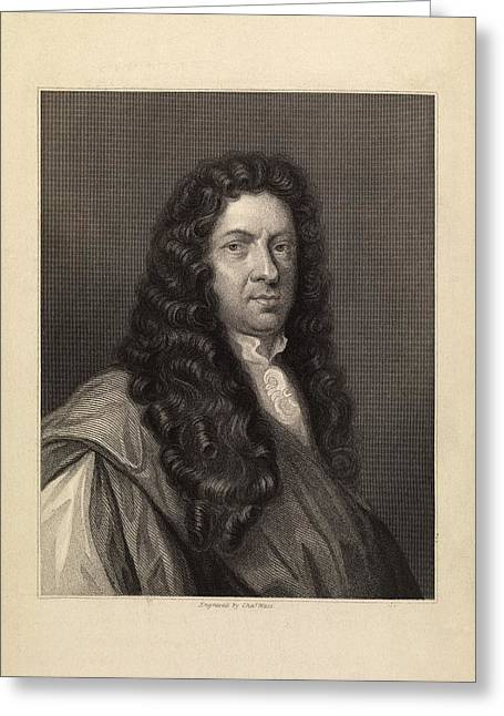 Samuel Pepys Greeting Card by Middle Temple Library