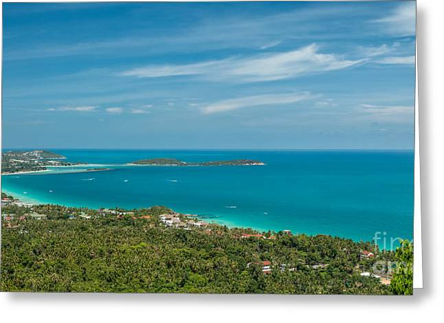 Koh Samui Greeting Cards - Samui Thailand Greeting Card by Adrian Evans