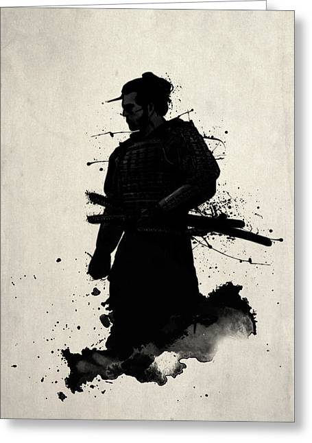 Sword Greeting Cards - Samurai Case Greeting Card by Nicklas Gustafsson