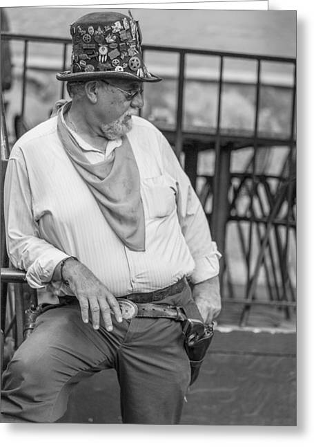 Bouncer Greeting Cards - San Antonio Bouncer Greeting Card by John McGraw