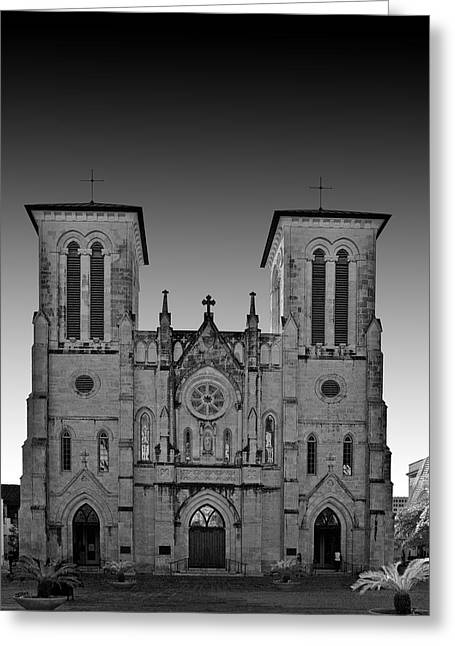 Gospel Greeting Cards - San Antonio - San Fernando Cathedral Greeting Card by Christine Till