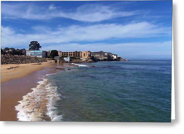 San Carlos Beach Greeting Card by Art Block Collections