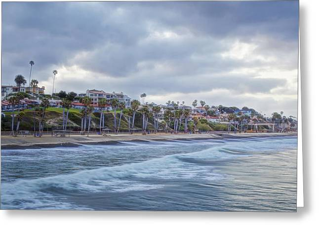 Clemente Greeting Cards - San Clemente Early Morning Greeting Card by Joan Carroll