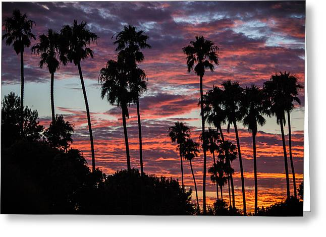 Sunset In San Clemente Greeting Cards - San Clemente Sunset Greeting Card by Richard Cheski