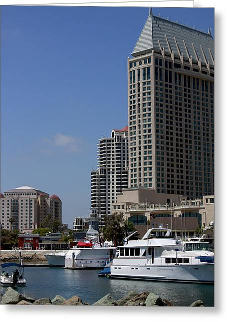 Ocean Art Photos Greeting Cards - San Diego Bay Greeting Card by Ivete Basso Photography