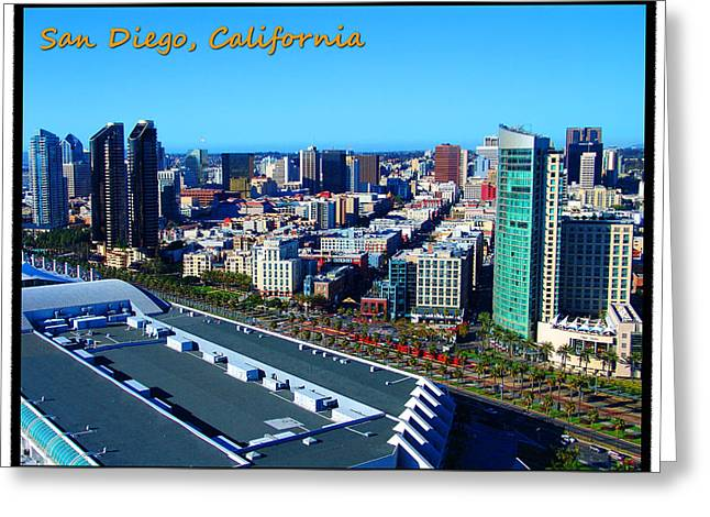 Convention Greeting Cards - San Diego Greeting Card by Glenn McCarthy Art and Photography
