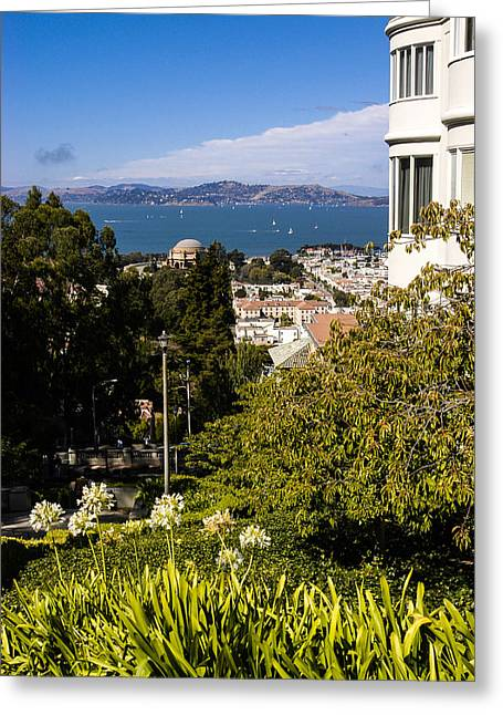 Sausalito Greeting Cards - San Francisco Bay Greeting Card by Mark Llewellyn