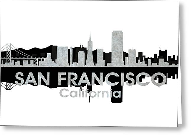 Industrial Icon Greeting Cards - San Francisco CA 4 Greeting Card by Angelina Vick