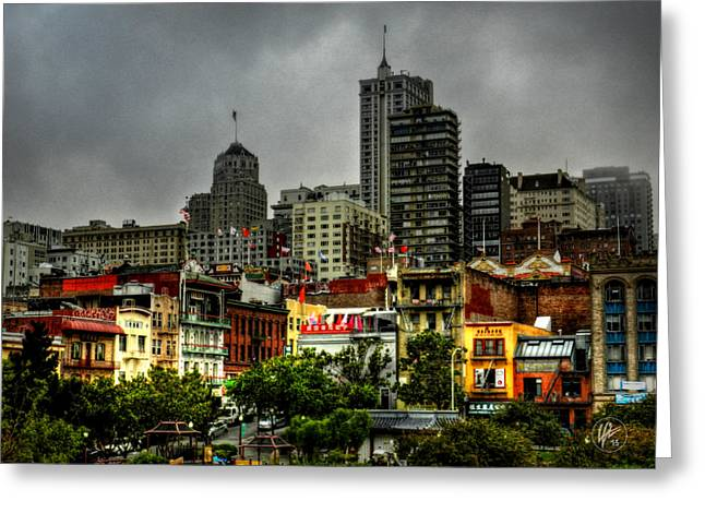 Chinatown Greeting Cards - San Francisco - Chinatown 015 Greeting Card by Lance Vaughn