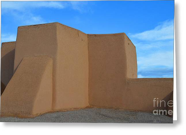 Francis Greeting Cards - San Francisco de Asis Mission Church in Taos Greeting Card by Catherine Sherman