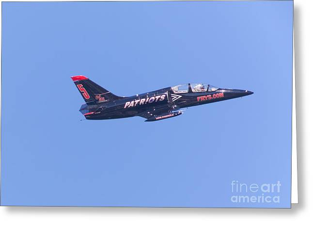 Military Airplanes Greeting Cards - San Francisco Fleet Week Patriots Jet Team 5D29508 Greeting Card by Wingsdomain Art and Photography