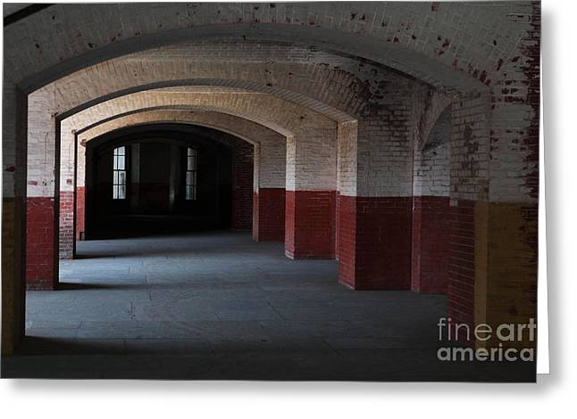 The Vault Photographs Greeting Cards - San Francisco Fort Point 5D21543 Greeting Card by Wingsdomain Art and Photography