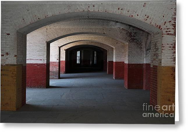 The Vault Photographs Greeting Cards - San Francisco Fort Point 5D21544 Greeting Card by Wingsdomain Art and Photography