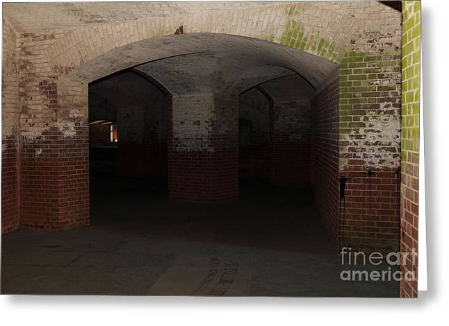 The Vault Greeting Cards - San Francisco Fort Point 5D21548 Greeting Card by Wingsdomain Art and Photography