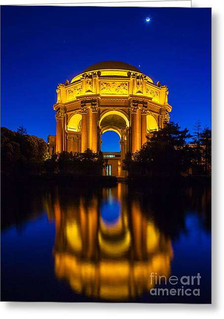 Architecture Greeting Cards - San Francisco Palace of Fine Arts Greeting Card by Inge Johnsson